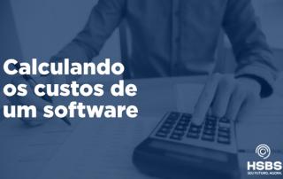 Como o Custo do Software é calculado?