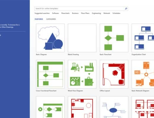 Novidades Office 365 – Visio Online